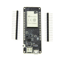 Recién TTGO cero ESP32 4 MB PSRAM Flash WiFi módulo Bluetooth Micropython Junta DC128(China)