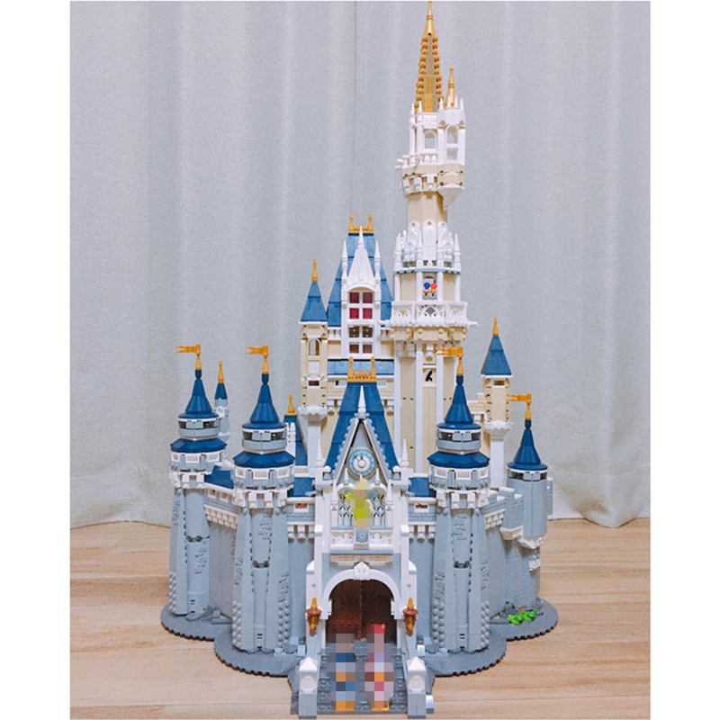LEPIN-16008-Cinderella-Princess-Castle-City-set-Model-Building-Block-Kid-DIY-Toy-Funny-Birthday-Gift