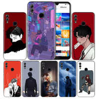Anime Boys Black Silicone Case Cover for Huawei Honor 8X 8C 8A 8S 10 10i Lite Play V20 Y9 Y7 Y6 Y5 Prime 2018 2019 Back Housing