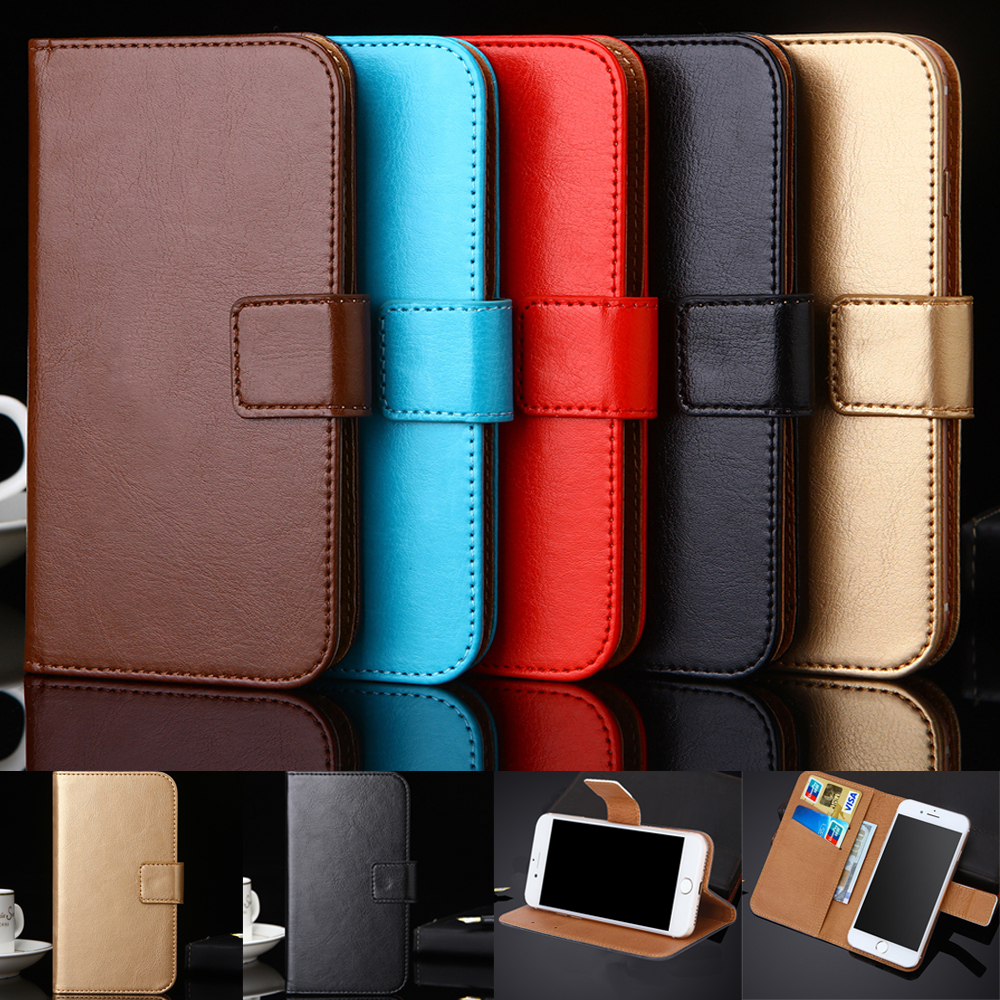 Phone Pouch Universal Belt Clip Phone Pouch Leather Case For Irbis Sp571 Sp552 Sp517 Sp514 Sp401 Sp453 Sp511 Sp551 Sp550 Cover Card Slot Cellphones & Telecommunications