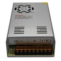 DHL envío gratis 12V 400W 33A LED fuente de alimentación para tira de luz 5050 o 3528 SMD LED transformador adaptador CE/Rohs|led power|led power supply|adapter transformer -