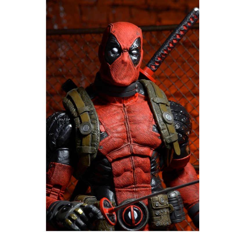 46 CENTÍMETROS Marvel X-MEN super-Homens Deadpool Estatueta Grande Bonecas Articulações Móveis Brinquedos PVC Action Figure Model Collection Toy H551