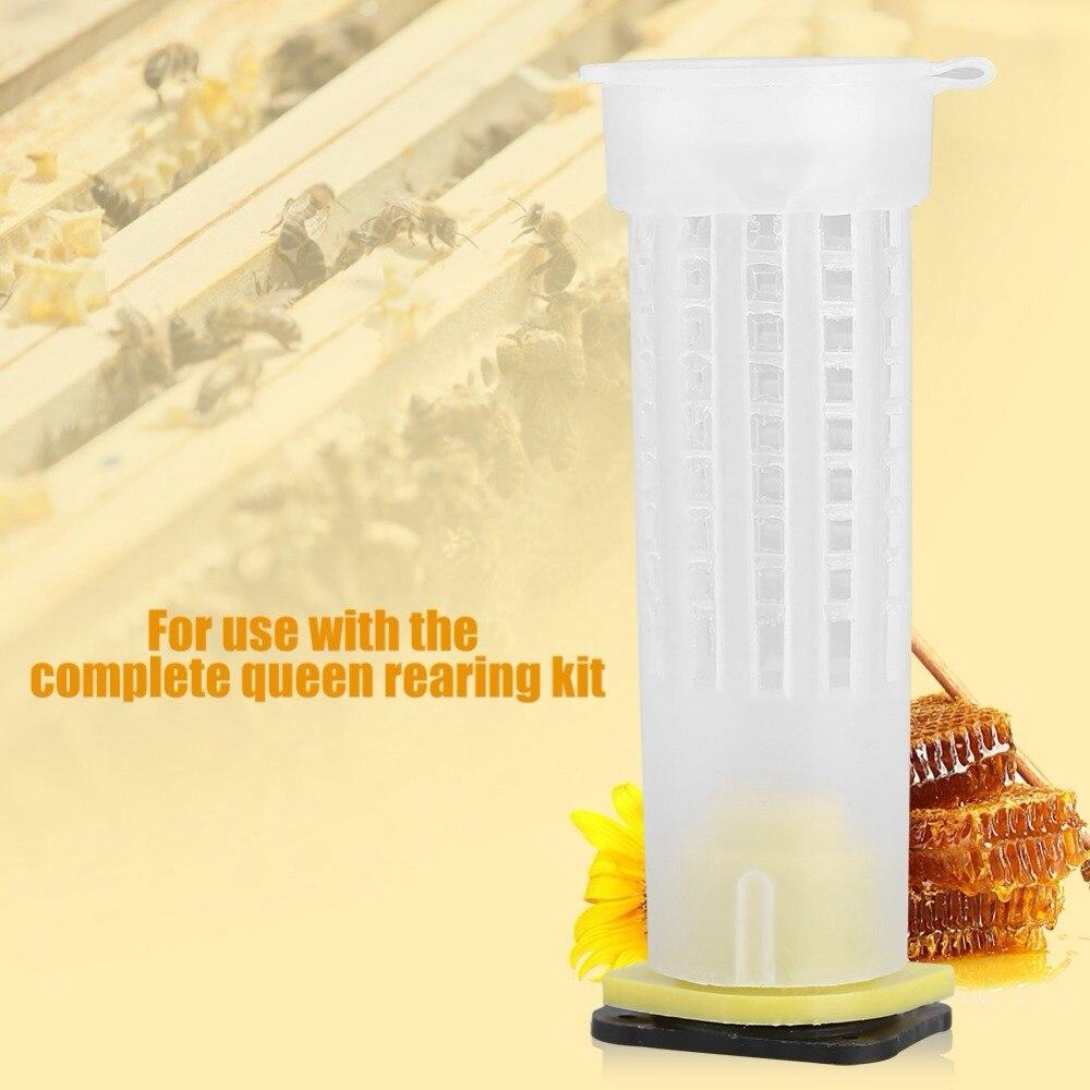 10X Beekeeping Kit Rearing Queen Bee Hair Roller Cages Beekeepers Equip Tools c