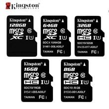 Kingston Class 10 Карта Micro Sd 8 ГБ 16 ГБ 32 ГБ 64 ГБ Карты Памяти C10 Mini SD Карты 64 ГБ 32 ГБ SDHC SDXC TF Карта Microsd ES на складе