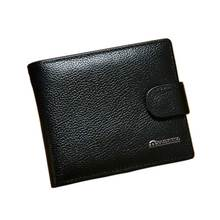 2020 genuine leather men Wallet new brand man short purse co