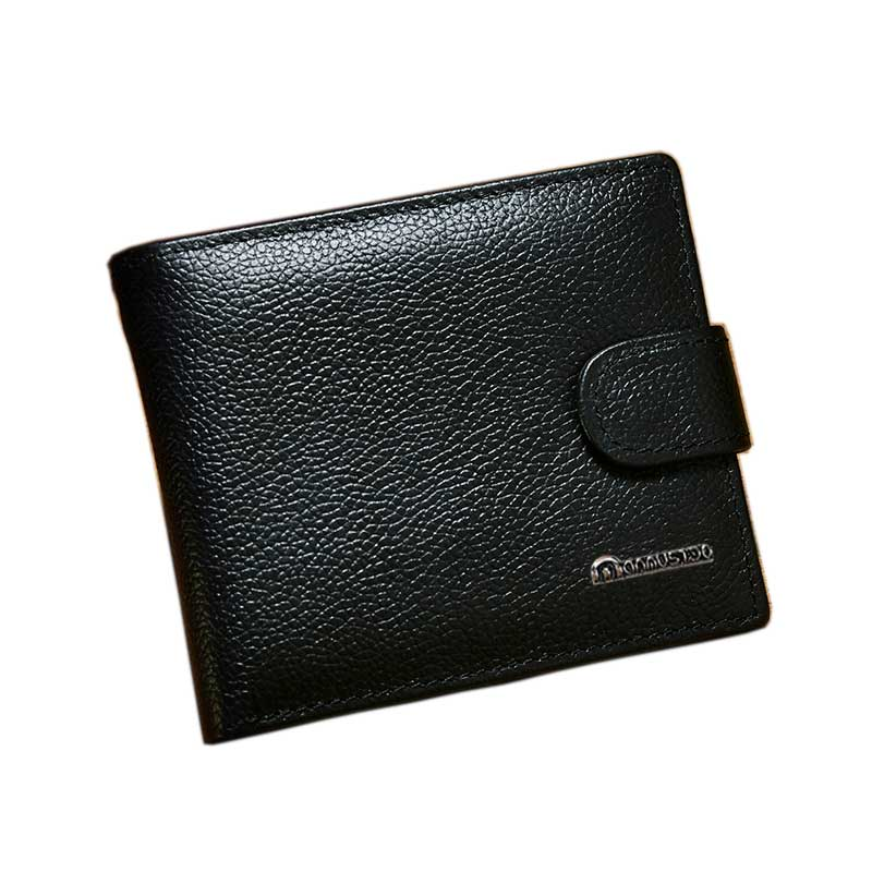 2020 genuine leather men Wallet new brand man short purse cow leather male wallet men money bag quality guarantee carteira