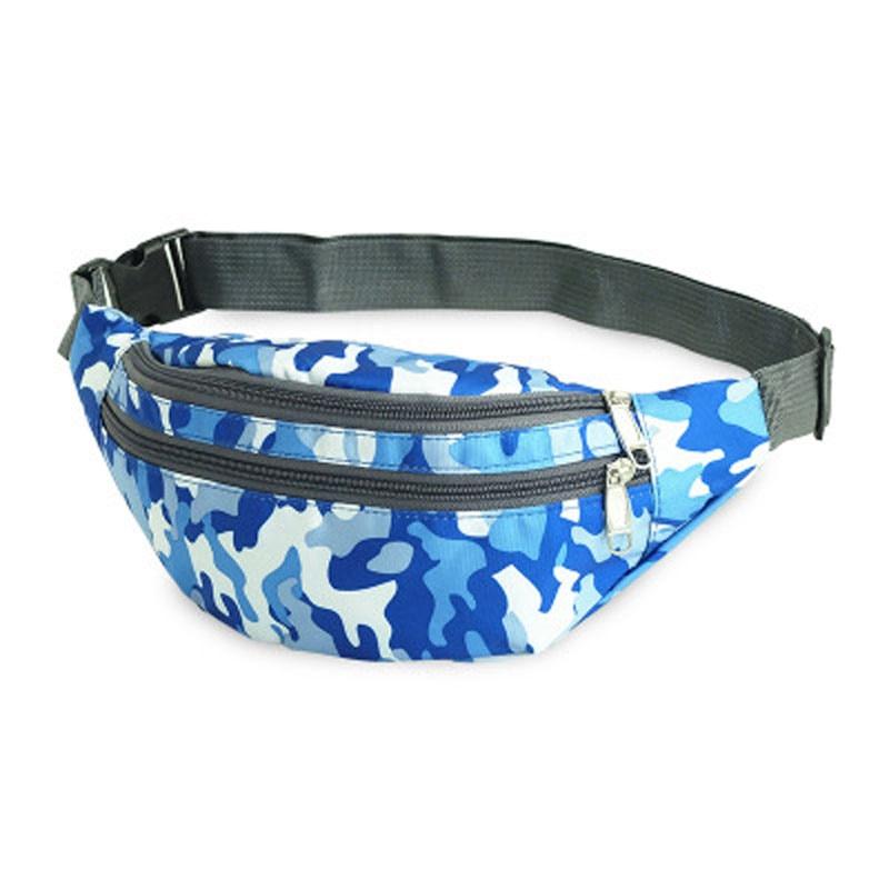 Fashion Serpentine Cami Waist Bag Fanny Pack Phone Key Clutch Hip Purse Belt Bags Out Casual Fashion Nalon Portable Waist Packs