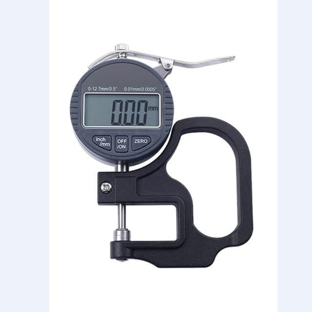 0.01mm Electronic Dial Thickness Gauge Meter 10mm Digital Dial Indicator Percent Width Measuring Instruments Gauge Tester Tools