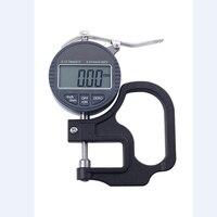 0.01mm Eletrônico Dial Relógio Comparador Digital de Medidor de Espessura de 10mm Por Cento Largura Instrumentos De Medição Medidor Tester Tools