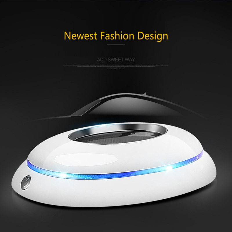 ФОТО free shipping  solar power fashion intelligent air purifier aromatherapy air cleaner