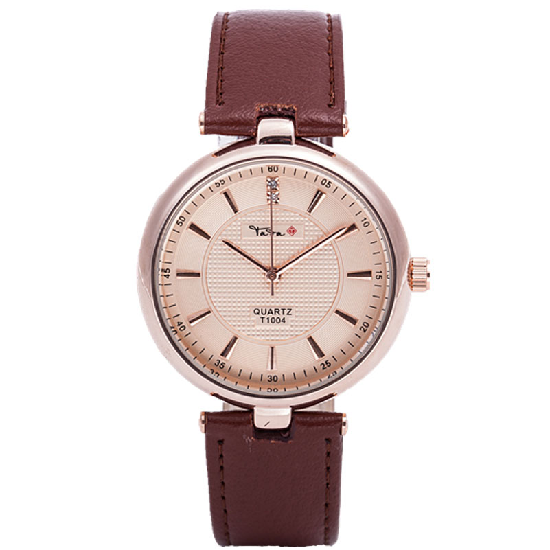 TADA Brand Luxury High Quality 3ATM Waterproof Japan Quartz Movement Watches Relojs Lady Fashion Genuine Leather