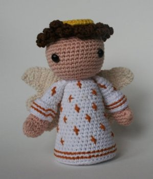 crochet toys  amigurumi  angel model number 0959