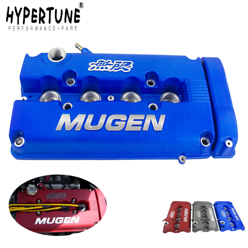Hypertune - MUGEN стиль рокер клапан крышка камеры для Honda Civic B16 B17 B18 VTEC B18C GSR HT-VCC01