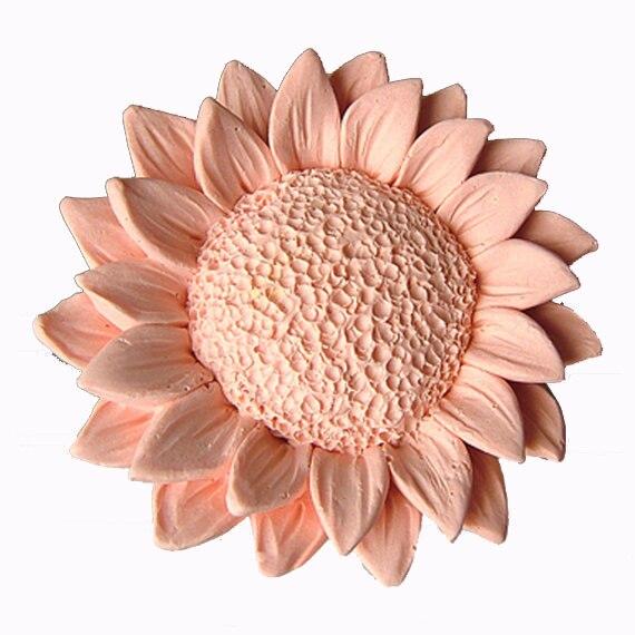 Sunflower Silikon formen blume seife form blumen silikon seife formen blumen silica gel sterben 3D Aroma stein formen 3d kerze