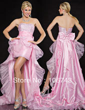 free shipping 2013 new fashion design style hot sale Sexy bride wedding Custom sizes high quality  knee-length bow dresses prom цена