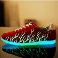 Светящиеся Светящиеся Обувь Флуоресценции Обувь мужчин и женщин моды привело обувь для взрослых x464 50