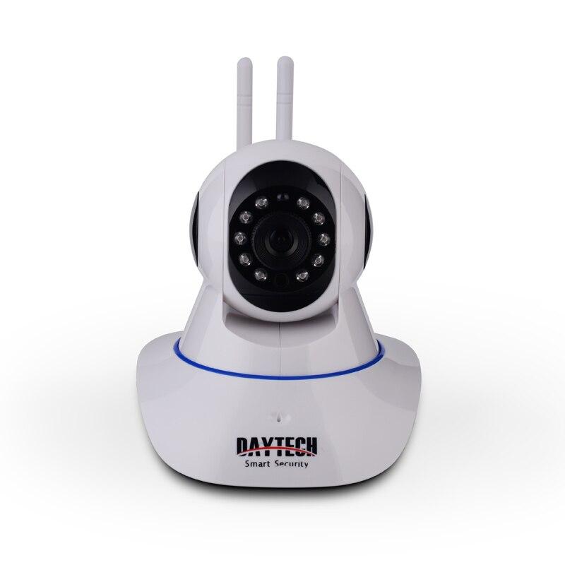 DAYTECH 1080 p Macchina Fotografica del IP di 2MP WiFi Senza Fili di Sicurezza Domestica di Sorveglianza della Macchina Fotografica di Rete Wi-Fi CCTV Coperta Visione Notturna di IR Pan tilt