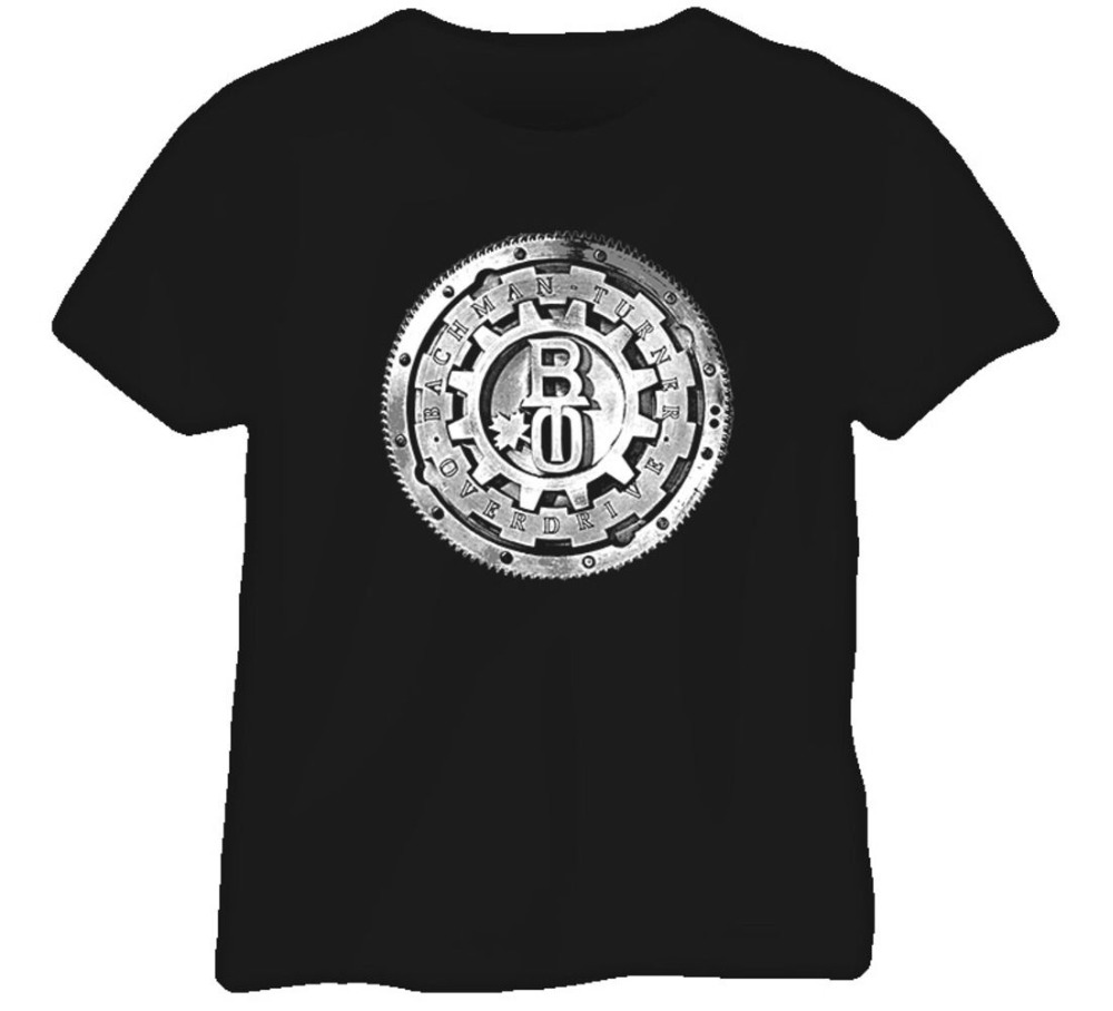 2018 Streetwear Short Sleeve Tees Bachman Turner Overdrive Bto Music Rock Band T Shirt Men's Shirts Men Clothes Novelty Cool