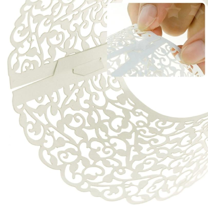 Super Deal 2015 New Arrival 100pc New! Little Vine Lace Laser Cut <font><b>Cupcake</b></font> Wrapper Liner Baking <font><b>Cup</b></font> Muffin Free shipping &749