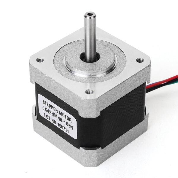 NEMA17 0.9 Graus 42 Duas Fases Híbrido Stepper Motor 40mm 1.68A Para Router CNC
