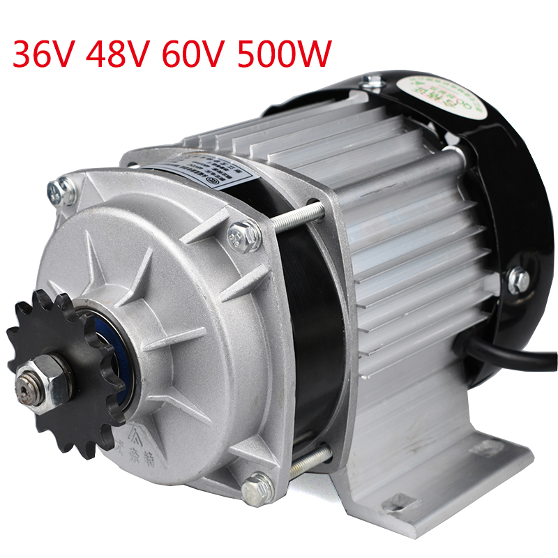 цена на 36V 48V 60V 500W Mid Drive Wheel Brushless Motor For E-Tricycle E-MOTO E-CAR DIY Mid Drive High Efficiency Motors BM1418ZXF