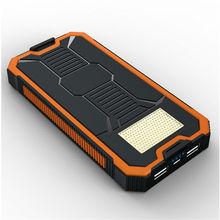 Liitokala Portable source ultra thin 12000mAh large capacity solar mobile power mobile phone digital universal charging