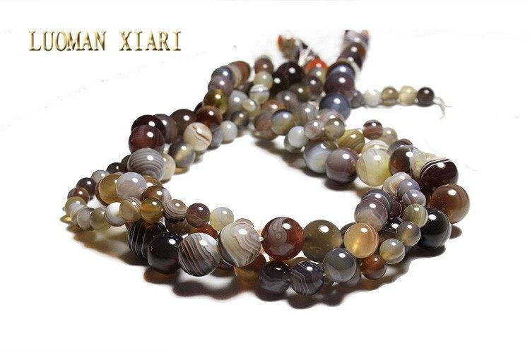 fabd89e88bfd ... piedra perlas para joyería hacer DIY pulsera collar 6 8  10mm Strand  15  . sobre el envíoposte de China envío del correo aéreo a Asia