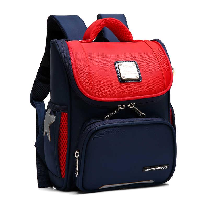2019 водонепроницаемые детские школьные сумки для мальчиков и девочек, детский ортопедический Школьный рюкзак, школьные сумки, Детская сумка Mochila escolar