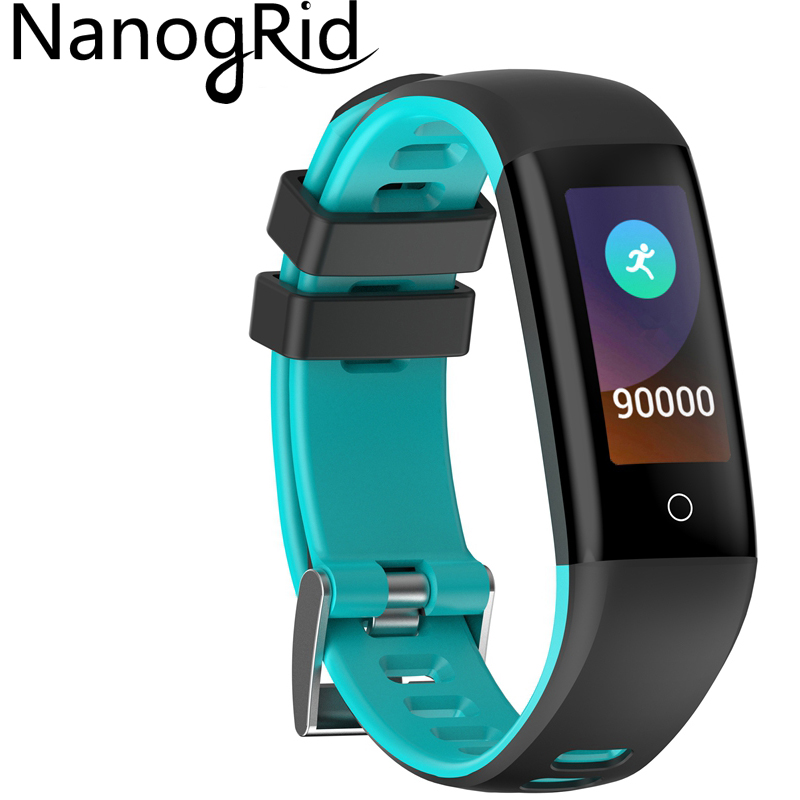 Wristbands Smartwatch Bluetooth-Wristwatch Color-Screen Sport with Wearable-Devices Push