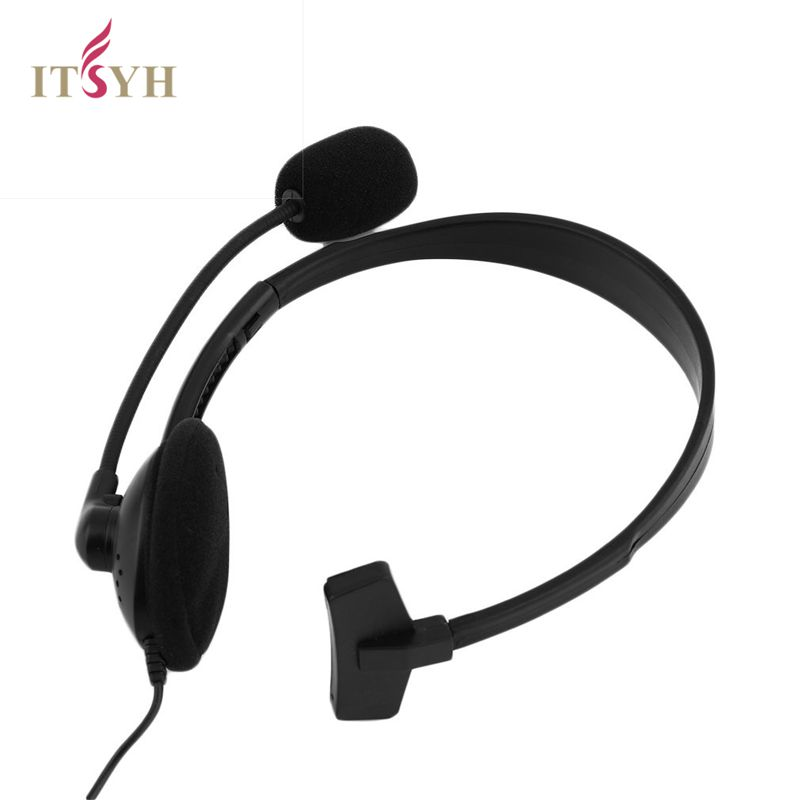ITSYH Wired Gaming Headset Headphone Microphone Mic Chat for for PS4 XP-S-10191