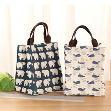 Lunch bag 2019 Waterproof Bag for Women kids Men Cooler Box Tote canvas lunch Insulation Package Portable
