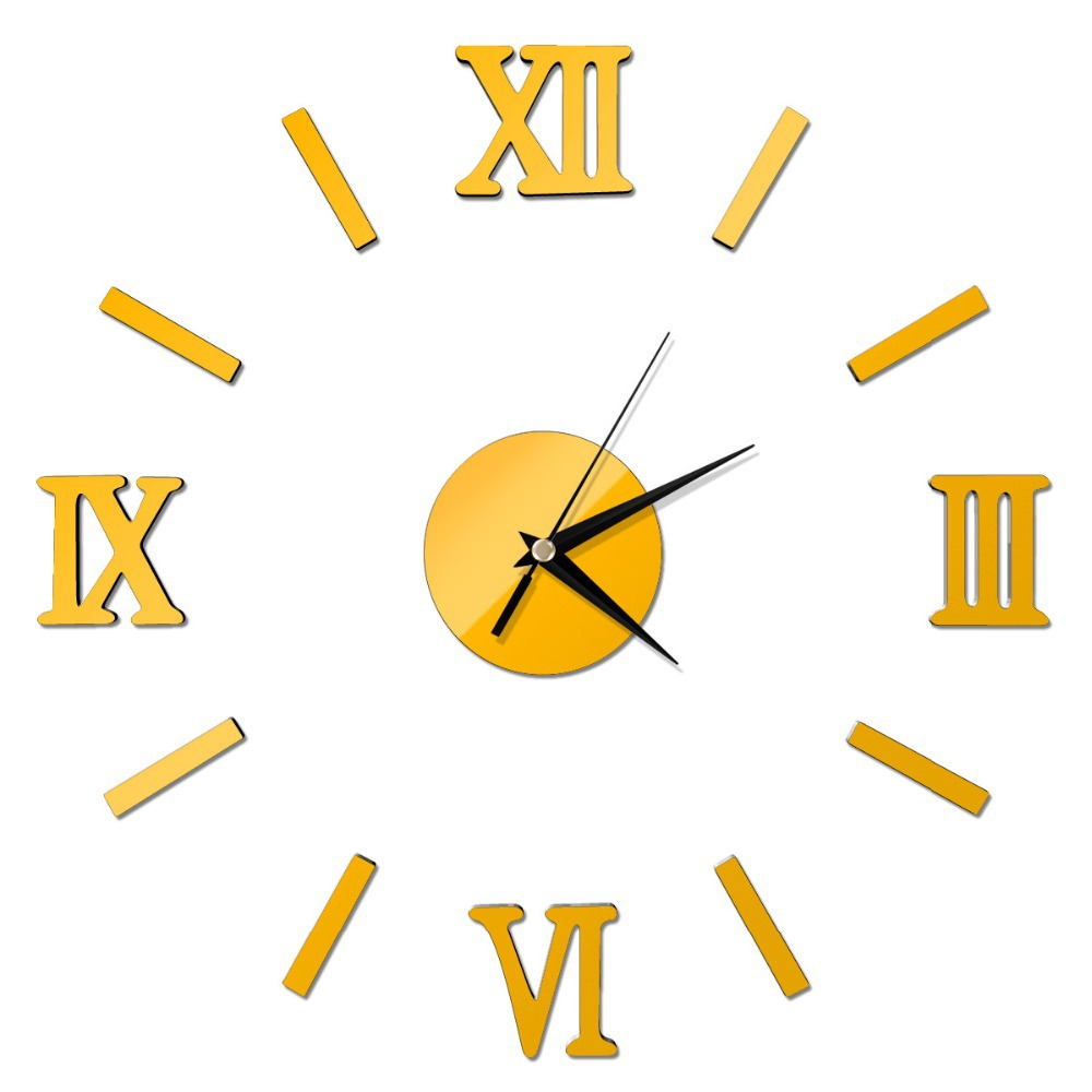 New Fashion Chic Adhesive Silver Vintage Roman Numeral Number ...