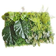 60*40 Cm Fake Kunstmatige Milan Gras Muur Planten Kunstgras Huis Tuin Verticale Decor Bruiloft Achtergrond Wanddecoratie