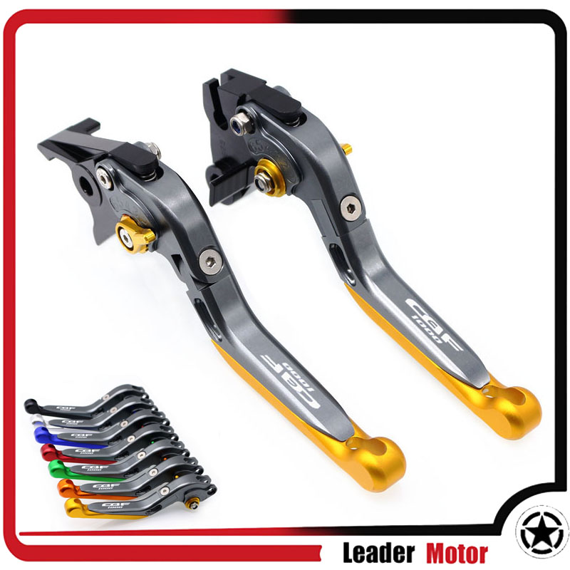 For <font><b>HONDA</b></font> <font><b>CBF1000</b></font> CBF1000A CBF 1000 2010-2013 Motorcycle Folding Extendable Brake Clutch Levers image