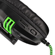 Cyber Style Gaming Stereo Headphones with Microphone