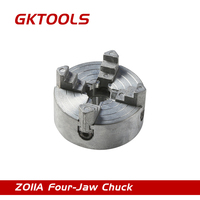 Four Jaw Chuck Clamping Diameter 1 8 56mm 12 65mm Speciel For The Mini Lathe