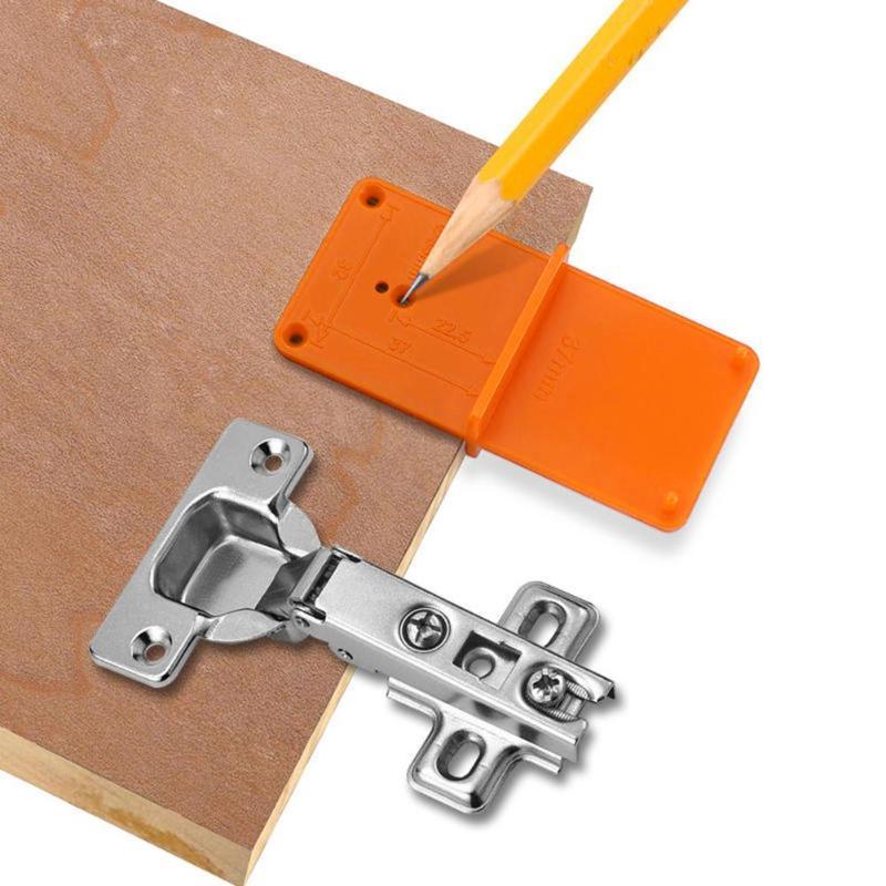 35/40 мм локатор дыр шкафы инструмент двери Woodworking удар шарнирное сверло отверстие открывалка сверло направляющая дрель отверстие Деревообра...