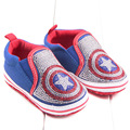 baby children Captain America  Shoes soft bottom kids boys and girls Superman Sneakers  diamond newborn Batman v Casual Shoes