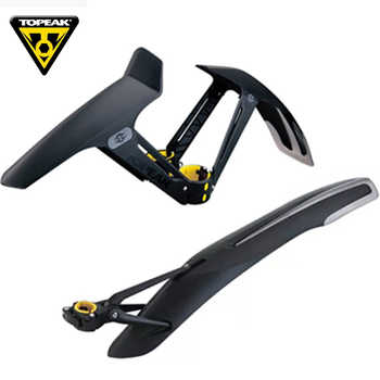 TOPEAK 26 27.5 29 inch MTB mudguard bicycle front rear wing for bicycle mud guard mountain bike fender