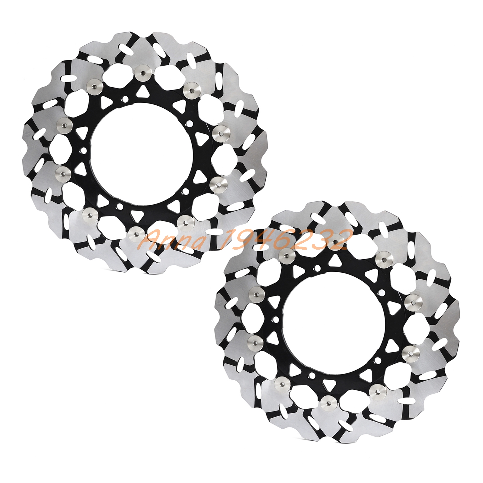 New Motorcycle Front Rotor Brake Disc For Yamaha FZ1 1000 06-14 FAZER 1000 06-12 ABS 07-12 YZF R1 1000 04-06