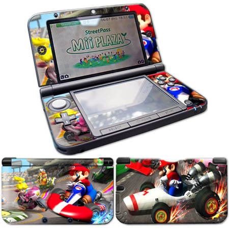 For 3DS XL LL Vinyl Skin Sticker Protector For Nintend 3DS XL LL Stickers Decals слипоны xti