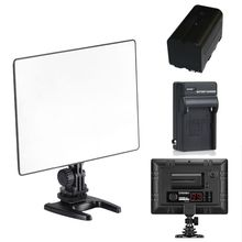 Yongnuo yn300 yn-300 yn 300 ar ar ar pro levou câmera de vídeo luz para canon nikon + np-f550 bateria + carregador