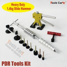 PDR Dent Lifter Glue Tabs Slide Hammer Pulling Bridge Paintless Dent Removal Kit  PDR-259 whdz pdr paintless dent repair tools pulling bridge dent puller glue gun slide hammer dent removal hand tool set pdr tool kit
