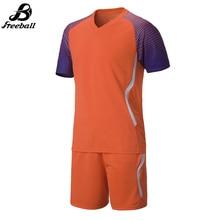 High quality Survetement football kits 2016 2017 soccer jerseys short sleeve men's soccer sets uniforms New