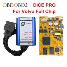 Il più nuovo Per Volvo VIDA DICE PRO + Pieno di Chip 2014D Fimware Aggiornamento e di Auto Test Per Volvo Scanner con multilingue Vida Dadi Verde