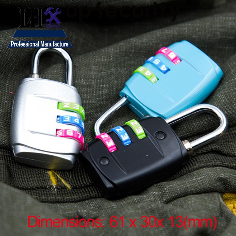 ᗔLHX 61*30mm Combination Safe Code Number Lock Padlock For Luggage ...