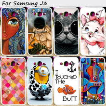 Phone Bags and Cases For Samsung Galaxy J3 (2016) J300 SM-J320 J300F J3000 J3109 Cases Multi Styles Anti-Knock Skin Phone Cover