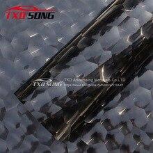 Премиум качество Черный Водный Куб углеродное волокно наклейка для обертывания автомобиля 3D углеродная пленка specila текстура Водный куб виниловая наклейка
