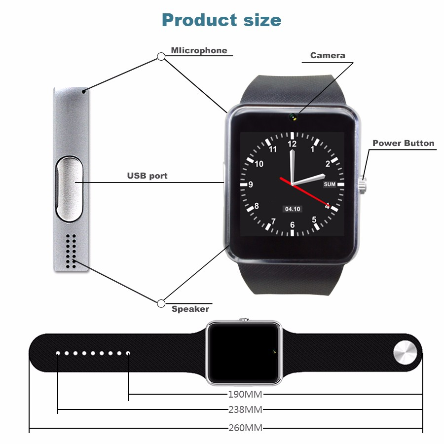 smart-watch-GT08-function-1