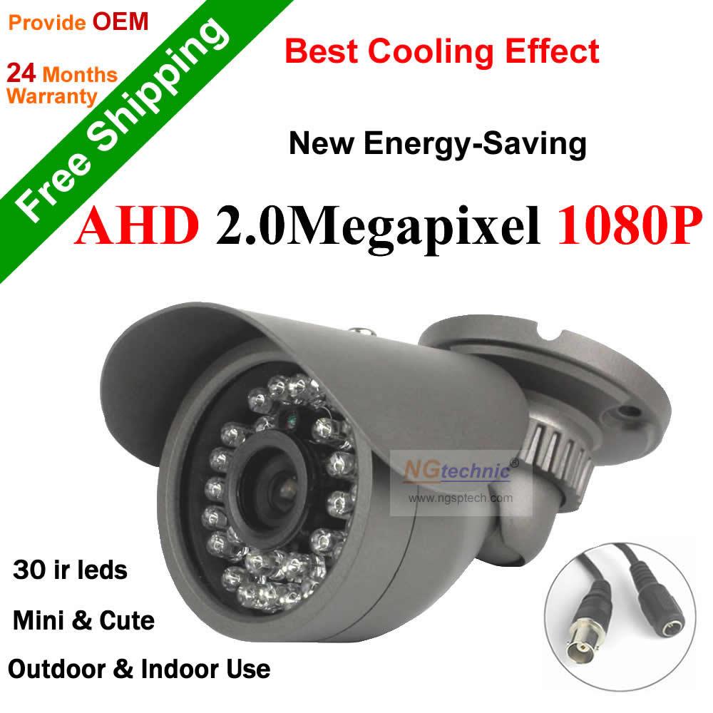 ФОТО Surveillance camera AHD 1080P Waterproof IR cut filter Night vision outdoor 2.0MP bullet AHD Camera security system AHD-H Camera